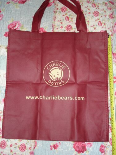 Charlie Bear Bag Size Approx 42cm x 40cm Brand New