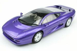 TOP-MARQUES-039F-JAGUAR-XJ220-resin-model-road-car-metallic-purple-1992-1-18th