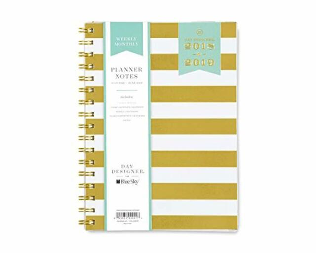 photo relating to Day Designer for Blue Sky named Working day DESIGNER for Blue Sky 2018-2019 Educational 12 months Weekly Regular Planner