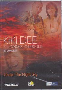 DVD-Music-Kiki-Dee-amp-Carmelo-Luggeri-Under-The-Night-Sky