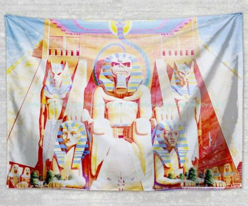 wall hanging  home wall decor Iron Maiden tapestry cloth poster