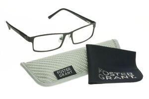 Foster-Grant-Multi-Focus-Advanced-Mens-Reading-Glasses-Sawyer-Black-Readers