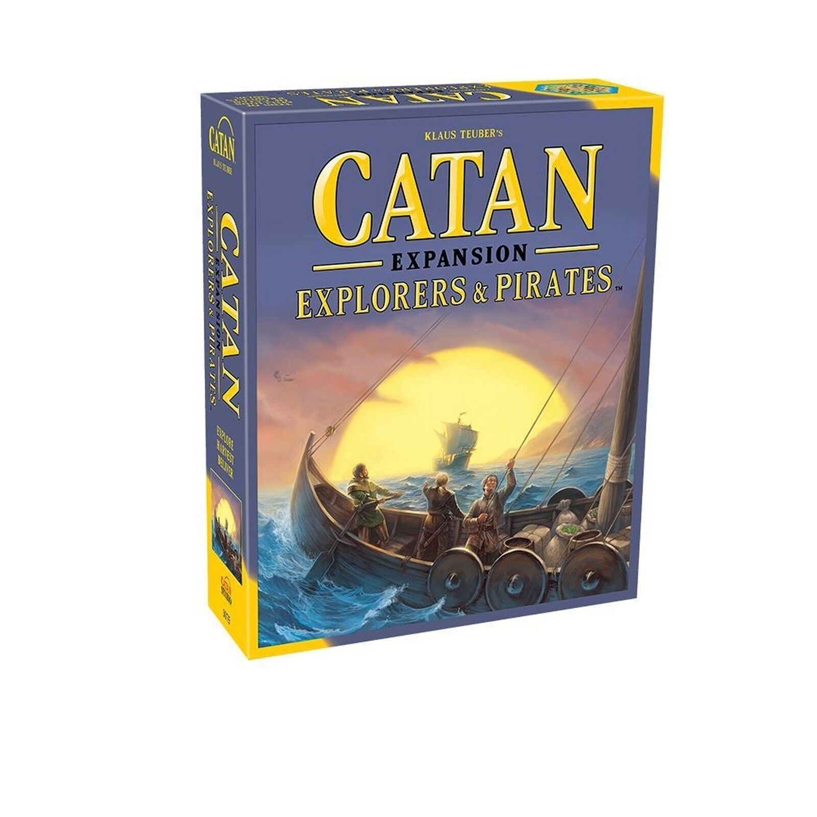 Catan - studio  forscher & piraten expansion 5th edition (neu)