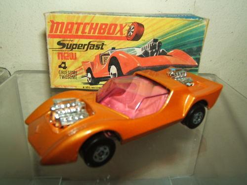 MATCHBOX SUPERFAST MODEL  No.4e  GRUESOME TWOSOME  VN MIB