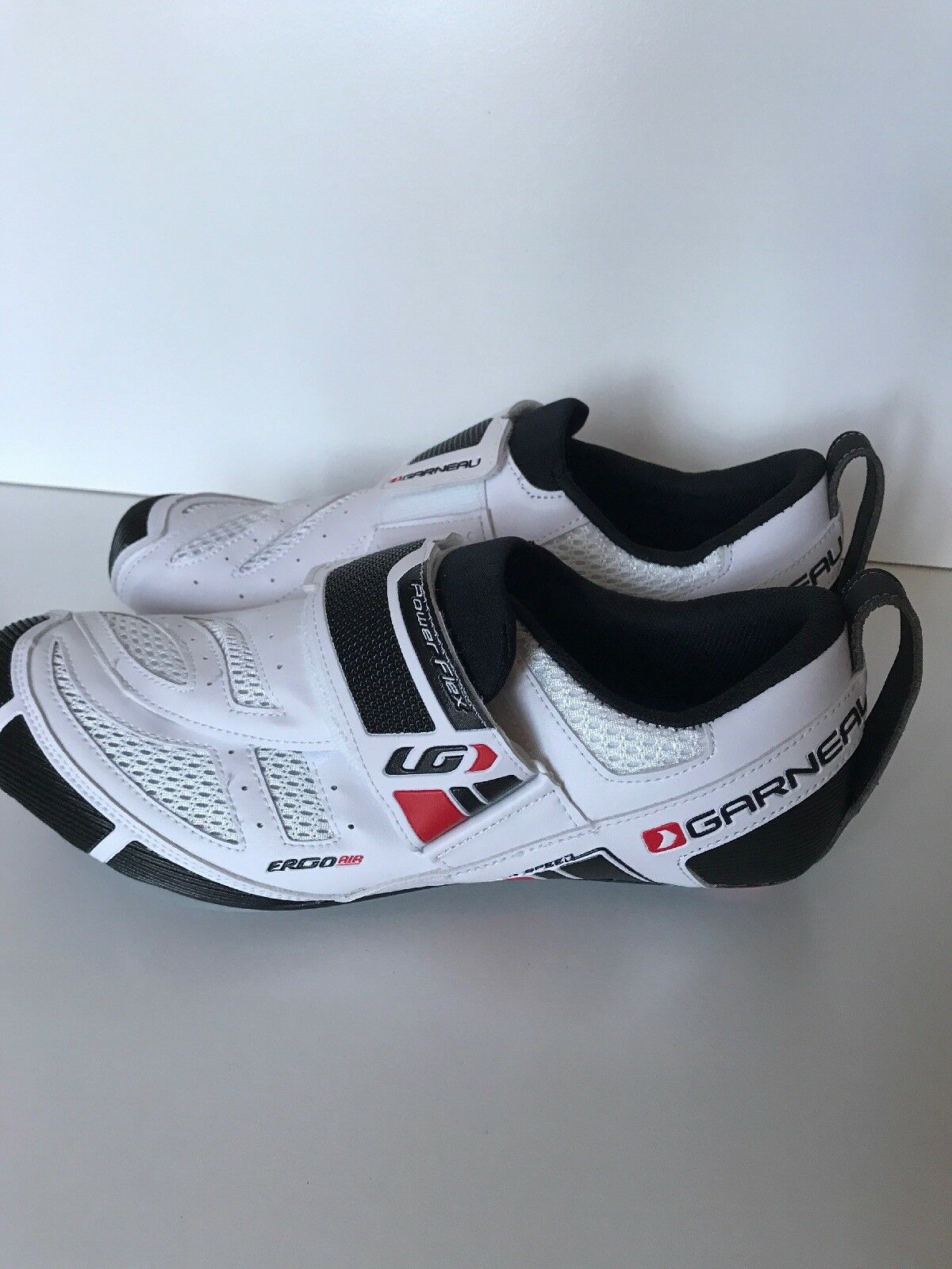 Louis Garneau Men's Tri X Speed Triathlon  White Cycling shoes 47 EU    12.5 US