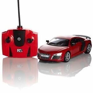 Audi-R8-Gt-Rouge-1-24-Telecommande-Telecommande-Voiture-Officiel-Enfants-Cadeau