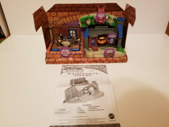 Harry Potter Hagrid's Hut World Of Hogwarts Playset No Original Box