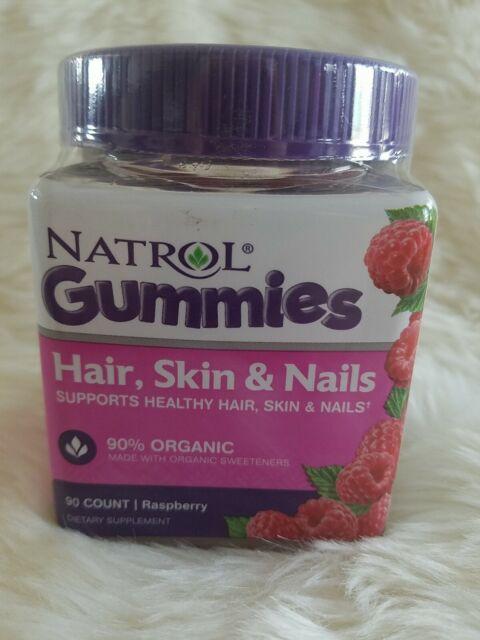 Hair Skin & Nails Gummies by Natrol, 90 count