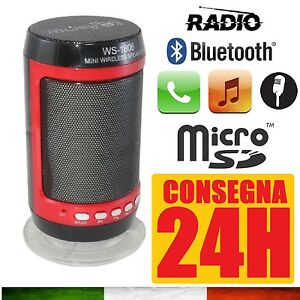 CASSA-PORTATILE-CON-RADIO-FM-SD-USB-BLUETOOTH-MP3-SMARTPHONE-SPEAKER-LED-WS-1806