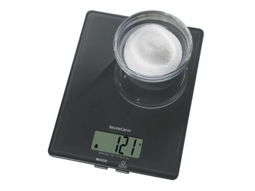 Waage Küchenwaage backen kochen Waage wiegen bis 5 kg Silvercrest Küche NEU
