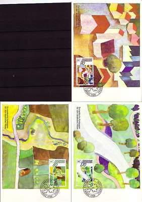 Gutes Renommee Auf Der Ganzen Welt Liechtenstein Mk 81 Michelnummer 939-941 europa:15471