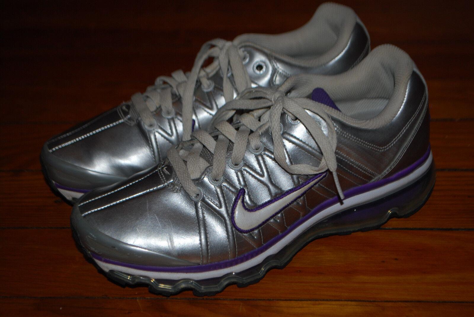 Women's Nike Women's Air Max+ Max+ Max+ 2009 Leather Running Sneaker (8.5) 401008 005 9ec738