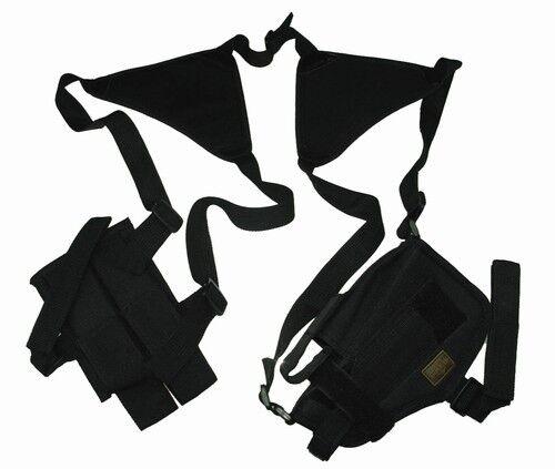Black Double Shoulder Holster w//Clip Pouch BB Airsoft Pistol Gun Handgun 208BA