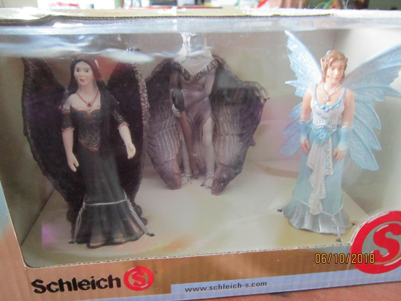 SCHLEICH Germany 3 Winged modelled & handpainted NEW Figures boxed toys