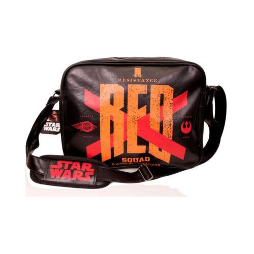 STAR Wars VII la forza SCALDA ufficiale rosso SQUAD X-Wing MESSENGER BAG
