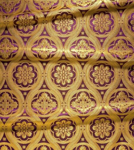 Samples Only Sample Request for Greek Liturgical Brocade Church Fabrics
