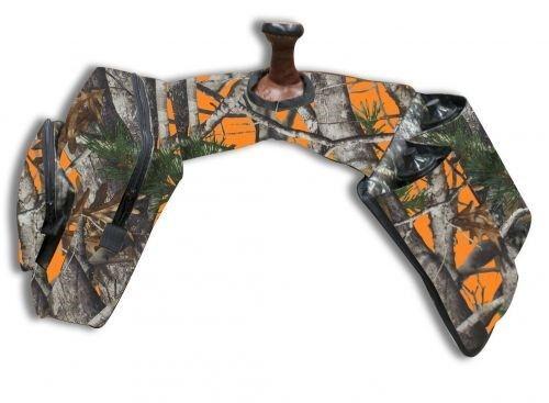SHOWMAN Orange Véritable Chêne Camouflage Isolé Nylon Horn Sacs avec bouteilles d/'eau!