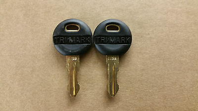 Tri Mark Reversable Keys - Pair - 1159 Winnebago Itasca