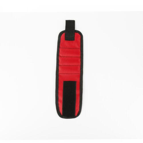 1pcs Muñequera magnética Envolturas de mano Bolsa de herramientas Electricista