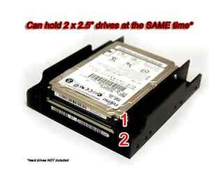 For 2 2 5 Quot Ssd Hard Drive To 3 5 Quot Bay Plastic Tray Mount