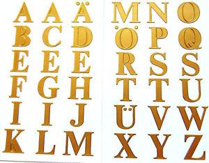 16mm 0 63 Gold Sticky Letters Self Adhesive Alphabet A Z Stickers 59127 5052495718453 Ebay