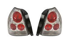 HONDA CIVIC EK EJ 1996-2000 Lexus Stile Chiaro Posteriore Coda Luci Lampade COPPIA Y0214