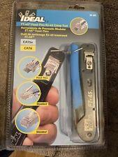 Ideal 30 495 Ft 45 Feed Thru Modular Plug Crimp Tool