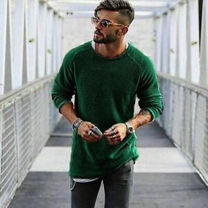 New-Fashion-Men-039-s-Men-Long-Sleeve-Shirt-Casual-Slim-Fit-T-shirt-Tee-shirt-Tops
