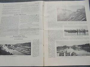 Bien éDuqué 1917 11 Trollhättakanal Suède-l Schweden Fr-fr Afficher Le Titre D'origine