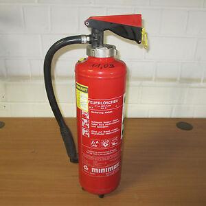Bevorzugt 6 x Feuerlöscher ABC - Pulver 6 KG Marke Minimax YV97