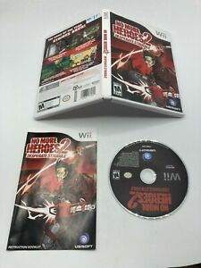 Nintendo Wii CIB COMPLETE TESTED No More Heroes 2: Desperate Struggle MINT