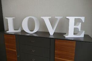 3D-Wandtattoo-Buchstaben-LOVE-Styropor-137cm-lang-34cm-hoch-10cm-dick-Deko