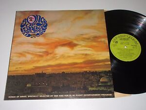 LP/EL AL/WERBEPLATTE/SONGS OF ISRAEL/BAN 14208 FOC