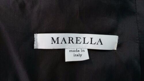 80 Donna Giacca Jacket Cinta Con Marella Cappotto Taglia Lana 44 xwXCXqI