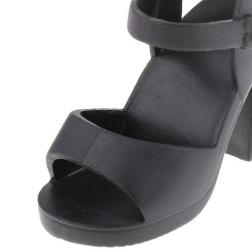 1//4 BJD Dolls Summer Jelly Schuhe für 45cm Doll Party Zubehör Black /&