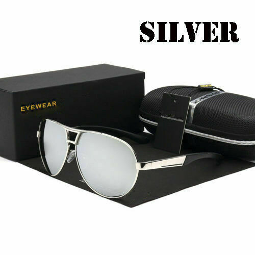 2019 Men/'s polarized Sunglasses Aviators Pilot Driving Fishing Sport Glasses
