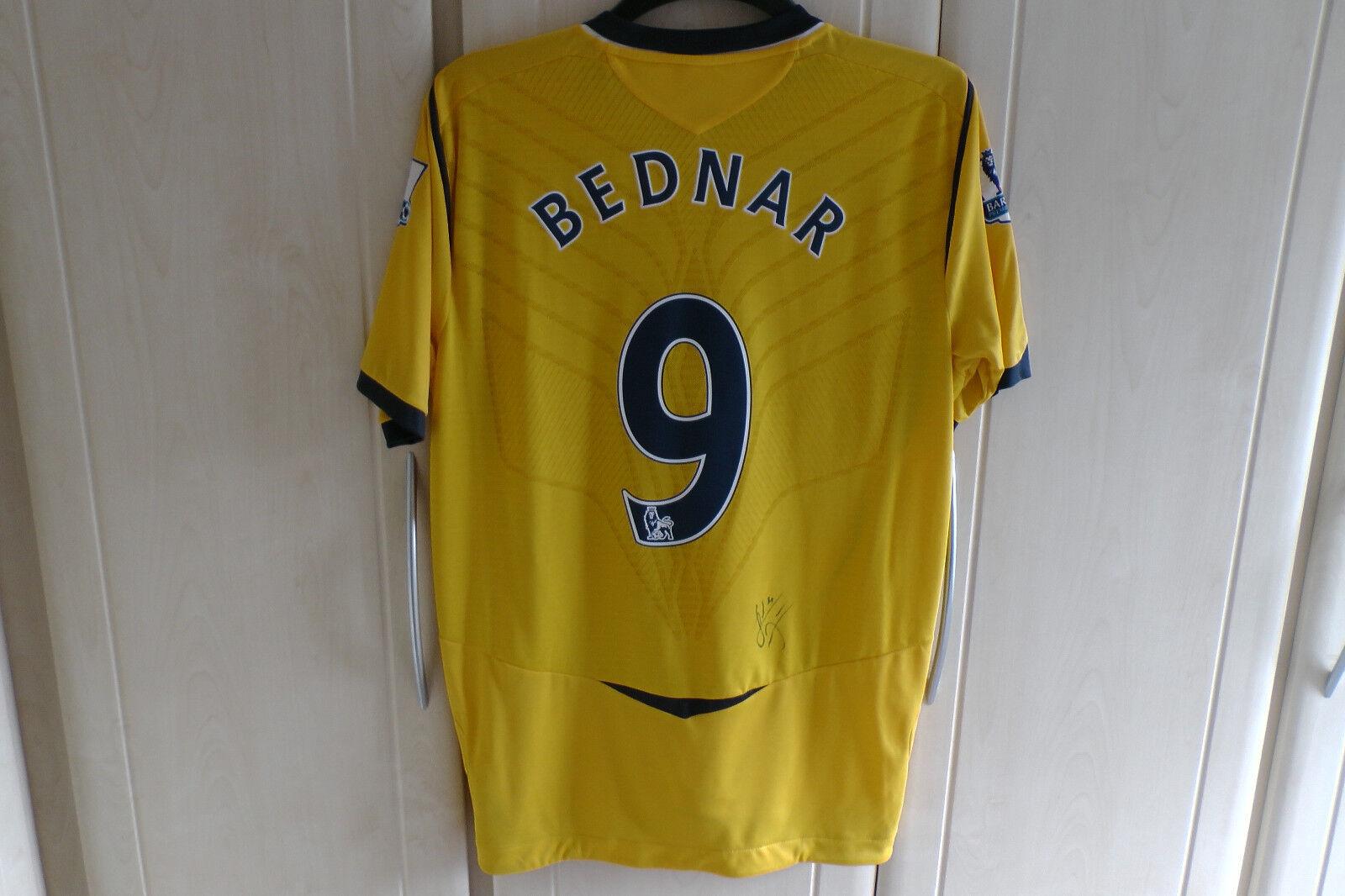 West Bromwich Albion WBA 2008 2009 Roman Bednar signed shirt Marek Cech grandes