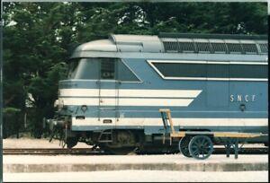 Photo SNCF BB-67477 Quiberon France 1986 original