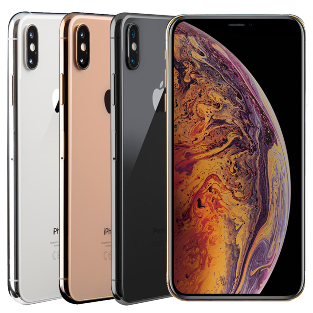 Apple iPhone XS Max - 64GB - Silver (  T-mobile AT&T Unlocked) B stock