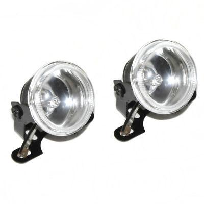 90mm Front Fog Spot Lights 12V White Light For Citroen C2 C3 C4 C5 C6 C8 Nemo