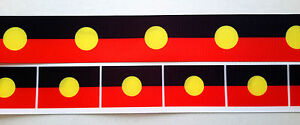 Aboriginal-Koori-Flag-Colours-32mm-printed-grosgrain-ribbon