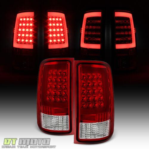 2007-2013 GMC Sierra 1500 07-14 2500HD 3500HD OPTIC LED Light Tube Tail Lights