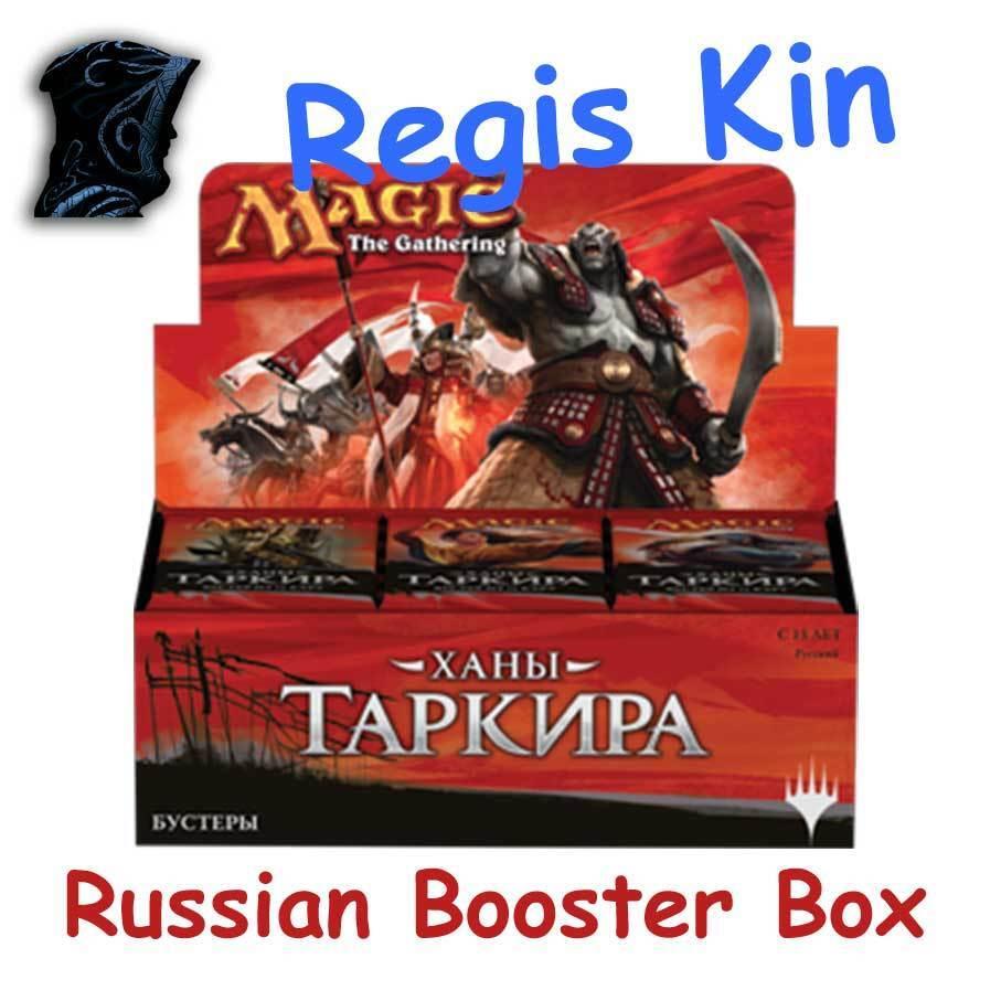 MTG Khans of Tarkir Russian Sealed Booster Box KTK - Regis_Kin