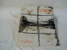 DERRIERE LE MIROIR N° 168 - NOVEMBRE 1967 -  ANTONI TAPIES