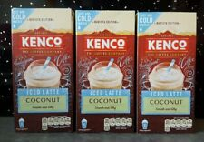 Kenco Iced Latte Coconut Instant Coffee Barista 16 Sachets 2