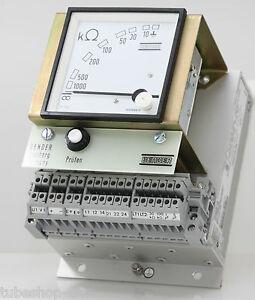 Bender GH500-1//5 Isolationsüberwachungsgerät für DC 0-500 Volt NEU NEW 115 Volt