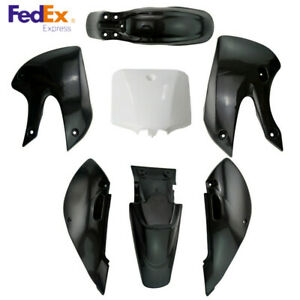Plastic Fender Fairing Kit for Kawasaki KX 65 KLX 110 KLX110 DRZ110 Suzuki RM65