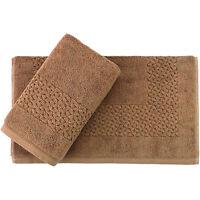 Salbakos 900 Gsm Hardwick Design 20 X 30 Bath Mat (set Of 2)