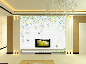 3D Sweet Birdcags 88 Wall Paper Murals Wall Print Wall Wallpaper Mural AU Kyra