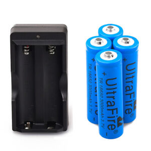 4x-UltraFire-3000mAh-18650-Battery-3-7v-Li-ion-Rechargeable-Batteries-Charger